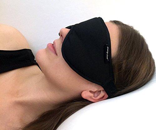 Stellar - Masque de sommeil de luxe noir