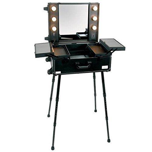 Porte-documents multifonctions Crisnails pour le maquillage, les cosmétiques, le salon, la beauté,....