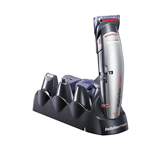 BaByliss X10 - Tondeuse à cheveux pour le visage, les cheveux et le corps, avec lames....