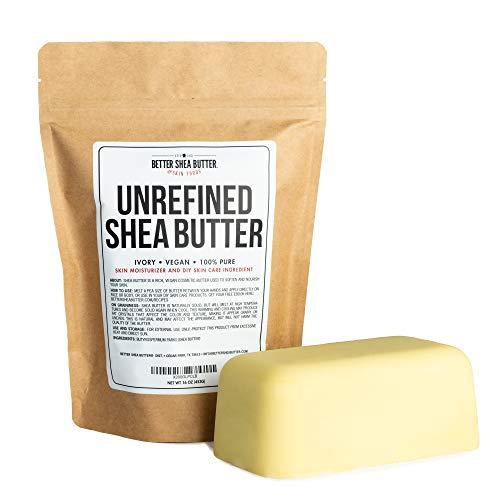 Beurre de karité non raffiné par Better Shea Butter - Africain, brut, pur - Utilisation.....