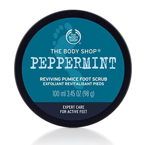 The Body Shop Peppermint Smothie Chose Smothie pierre ponce Exfoliant pour les pieds / Menta bimsstein....