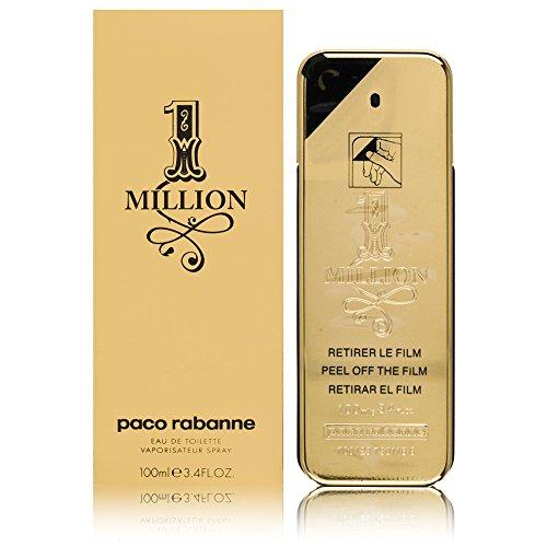 Paco Rabanne 1 Million, Eau de toilette pour hommes - 100 ml.