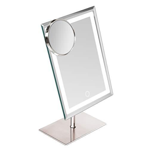 Miroir de maquillage Star Vision en métal et verre avec 80 mini lumières LED....