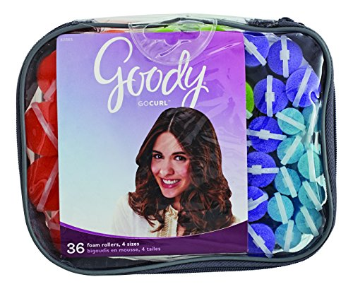 Goody Styling Essentials Rouleau à cheveux en mousse, Mega Pack, 36 Count by Goody....