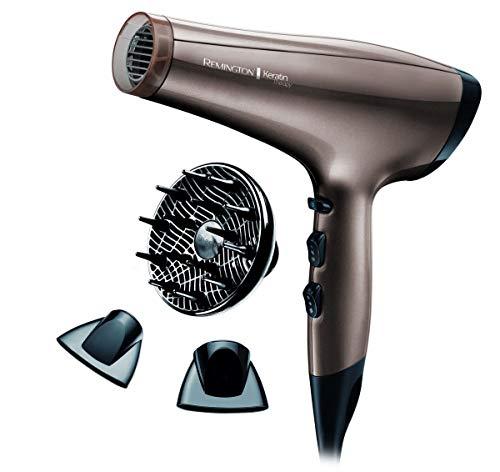 Remington AC8000 Keratin Therapy - Sèche-cheveux ionique, moteur 2200 W AC.....