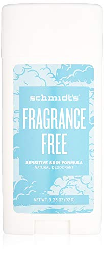 Schmidt's Natural DeodorantTM - Bâton pour peau sensible sans parfum (3.25...