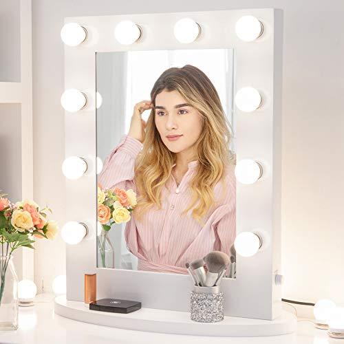 Miroir de maquillage Chende avec éclairage réglable pour la cosmétique....