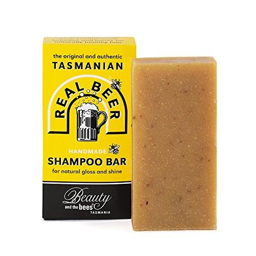 Beauté et abeilles Royal bière bière shampooing bar à bière Tasmania Australie....