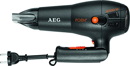 AEG HT 5650 - Sèche-cheveux professionnel ionique, 3 niveaux de....